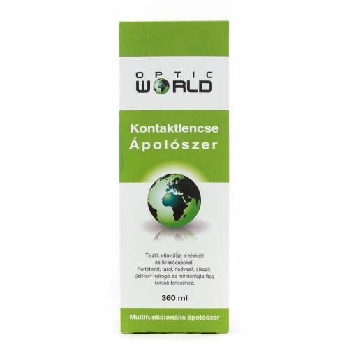 OPTIC WORLD Solution Zöld 360 ml