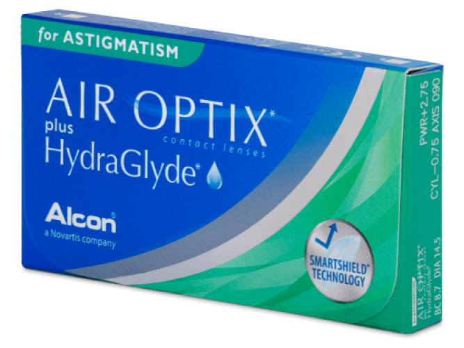 Air Optix Plus HydraGlyde Astigmatism (3 db/doboz)