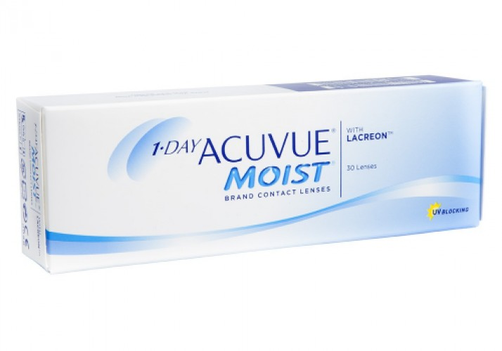 1 Day Acuvue Moist (30 db/doboz)