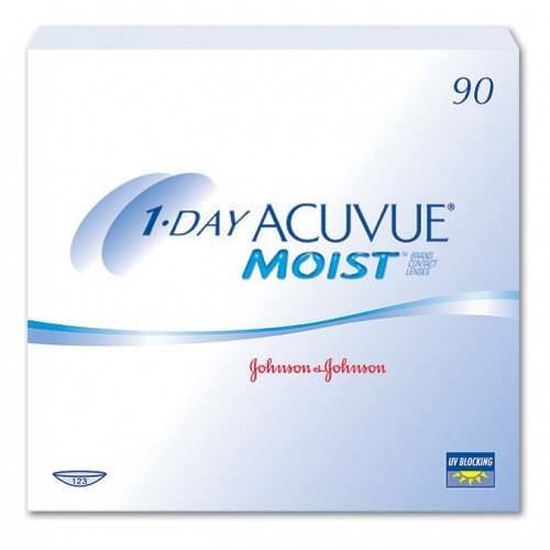 1 Day Acuvue Moist (90 db/doboz)
