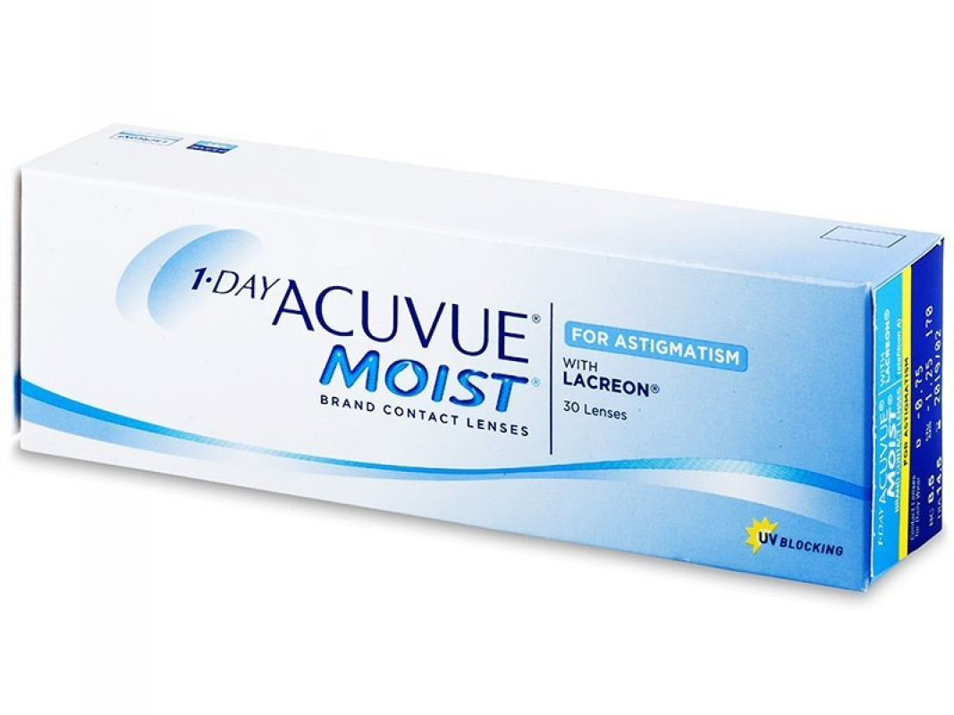1 Day Acuvue Moist for Astigmatism (30 db/doboz)