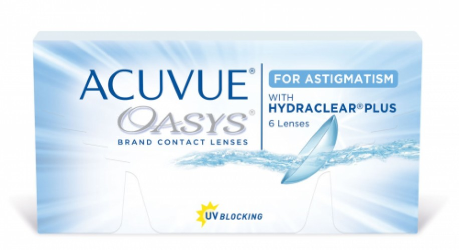 Acuvue Oasys for Astigmatism (6 db/doboz)