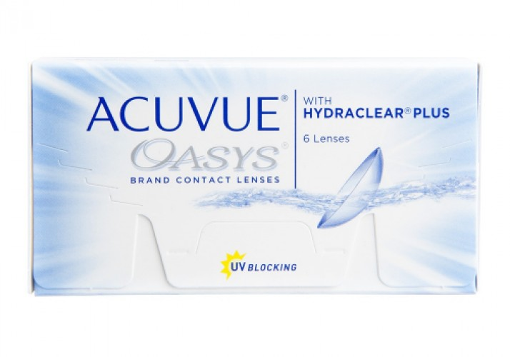 Acuvue Oasys with Hydraclear Plus (6 db/doboz)