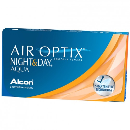 Air Optix Night & Day Aqua (6 db/doboz)